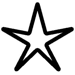 つ星認識賞無料アイコン