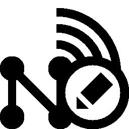 無料のワイヤレス ネットワーク アイコンを編集します。