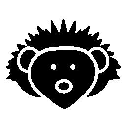 ライオンの顔無料アイコン