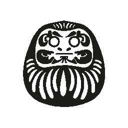 日本の鬼の無料のアイコン