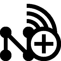 ワイヤレス ネットワーク、ボタン無料のアイコンを追加