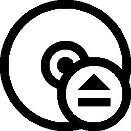 Cd イジェクト ボタン無料アイコン
