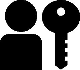 ユーザー認証の無料アイコン