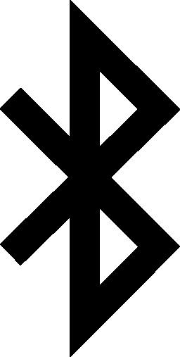 Bluetooth インタ フェース シンボル図形無料アイコン