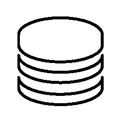 データベース インタ フェース シンボル概要無料アイコン