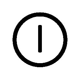 普遍的なシンボル無料アイコン電源
