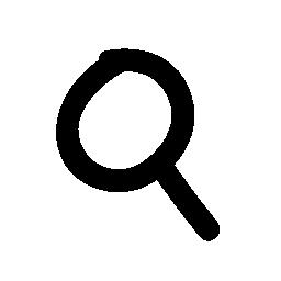 インタ フェース シンボルの無料アイコンをズームします。