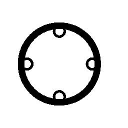 ターゲット シンボル バリアント無料アイコン
