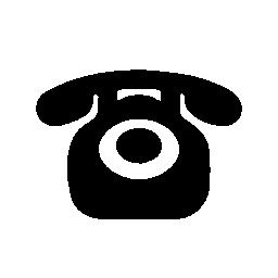 ビンテージ バージョン無料のアイコンの上の電話