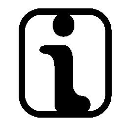 情報シンボル無料アイコン