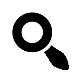 検索インタ フェース シンボル バリアント無料アイコン