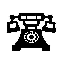 ビンテージのデザイン無料のアイコンの電話