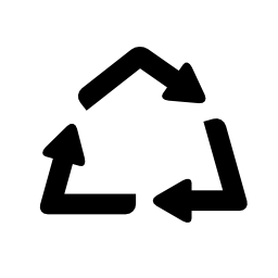 普遍的なシンボル無料のアイコンをリサイクルします。