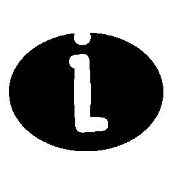 情報インタ フェースの普遍的なシンボル無料アイコン