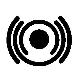 Wifi 信号インタ フェース シンボル無料アイコン