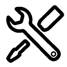 構成インタ フェース シンボル無料アイコン