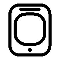 タブレット タッチ画面無料アイコン