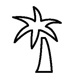 パーム熱帯無料アイコン