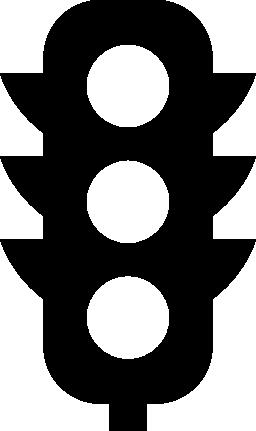 無料のトラフィック ライト アイコン