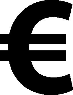 ユーロ シンボル無料アイコン
