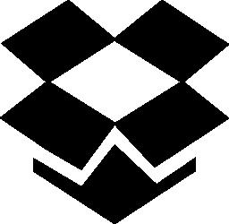 Dropbox のロゴの無料アイコン