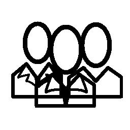 グループの無料アイコン