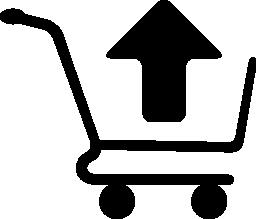 ショッピング カート削除項目シンボル無料アイコン