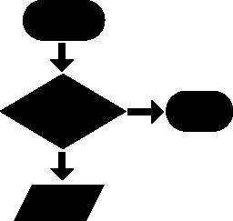 プログラミング プロセス無料アイコン