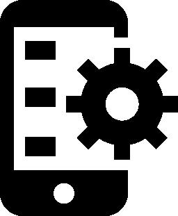 モバイル アプリケーション開発無料アイコン