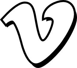 Vimeo のロゴ無料アイコン