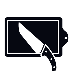 テーブル ナイフ無料アイコン