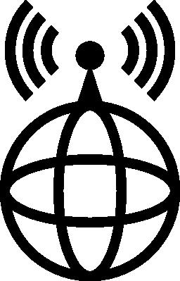 国際伝送タワー無料アイコン