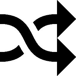 矢印の交差したカップルの無料のアイコン