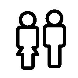 カップル概要、IOS 7 インタ フェース シンボル無料アイコン