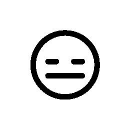 悲しい顔で、IOS 7 インタ フェース シンボル無料アイコン絵文字