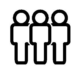 グループ、人の概要、IOS 7 インタ フェース シンボル無料アイコン
