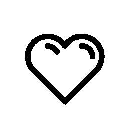 同様に、心臓 IOS 7 インターフェイス無料アイコンのシンボル