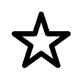 お気に入りスター、IOS 7 インタ フェース シンボル無料アイコン