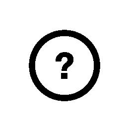 ヘルプ、IOS 7 インタ フェース シンボル無料アイコン