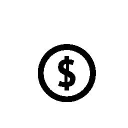 ドル、IOS 7 インタ フェース シンボル無料アイコン