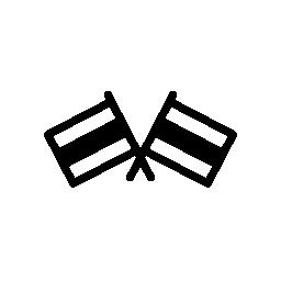 フラグのカップルは、IOS 7 インタ フェース シンボル無料アイコン