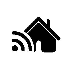 不動産プロパティ無料アイコンのシンボルの Rss フィード