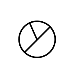 円グラフの円、IOS 7 インタ フェース シンボル無料アイコン