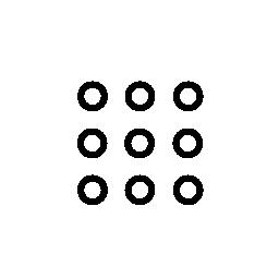キーボードまたはキーパッド、IOS 7 インタ フェース シンボル無料アイコン