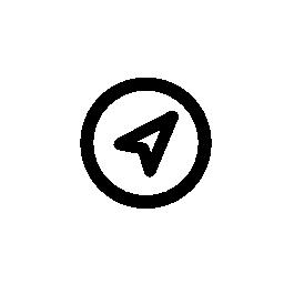 コンパス、IOS 7 インタ フェース シンボル無料アイコン