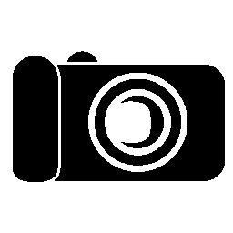 黒のデジタル カメラ画像無料アイコン