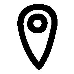 大胆なプレース ホルダーの輪郭の無料アイコン
