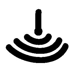 信号カバレッジ ステータス無料アイコン
