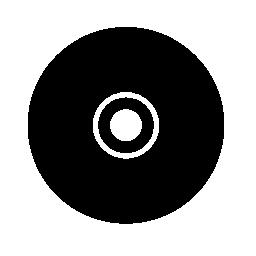 ブラック ・ ミュージック ディスク無料アイコン