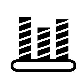 斜めの線の詳細無料アイコン バー グラフ